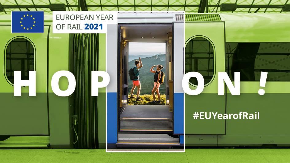 Europäisches Jahr der Schiene