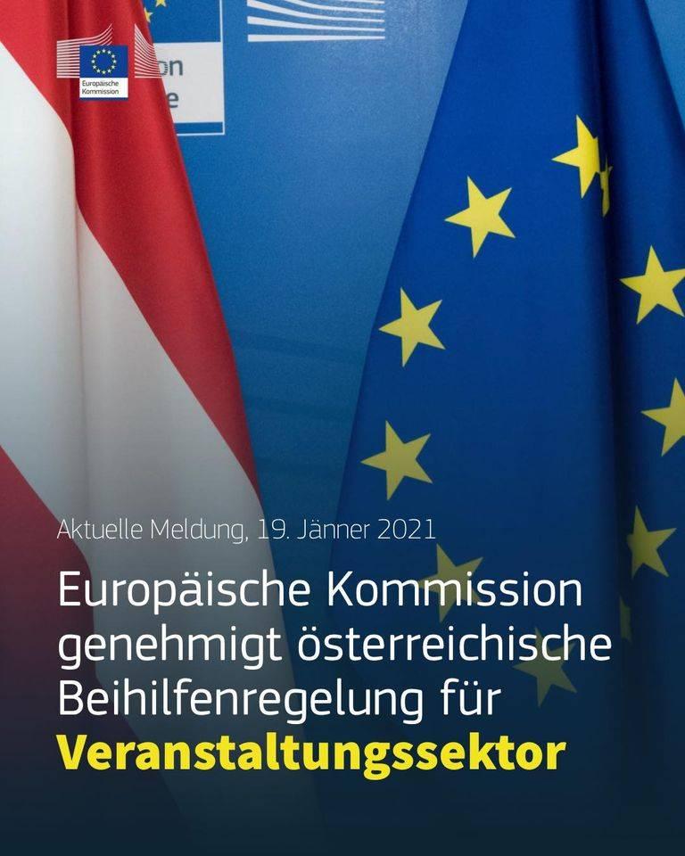 Europäische Kommission genehmigt österreichische Beihilfenregelungen für Veranstaltungssektor