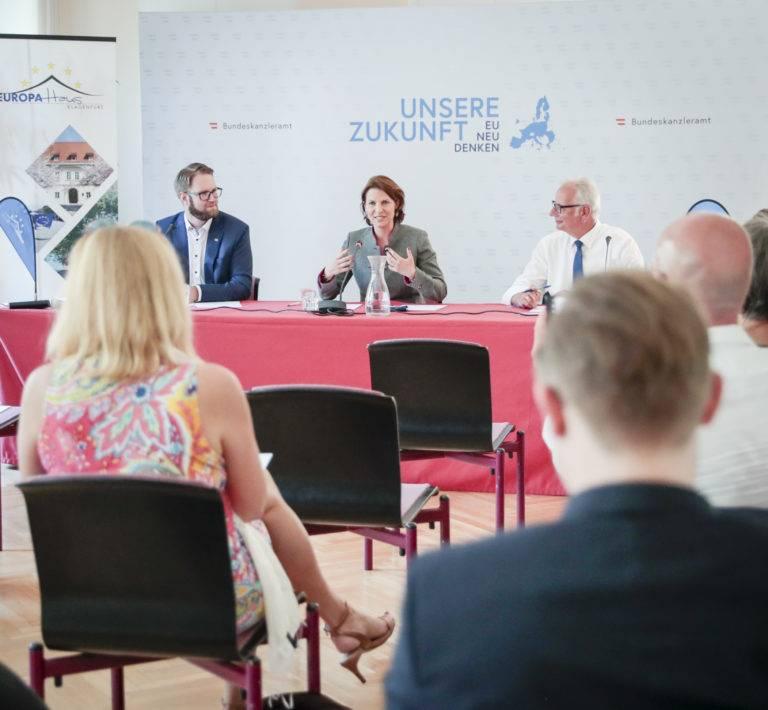 EU-Dialog in Kärnten | Unsere Zukunft