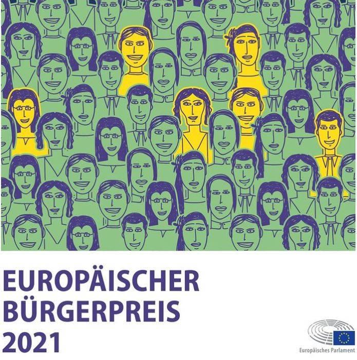 Europäischer Bürgerpreis 2021: Jetzt bewerben!
