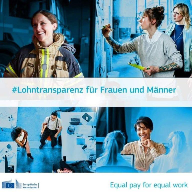 Lohntransparenz: Kommission schlägt Maßnahmen für gleiches Entgelt bei gleicher Arbeit vor