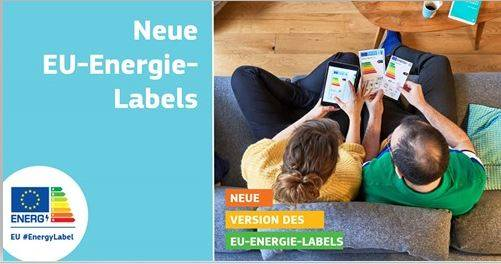 Neue EU-Energielabels ab 1. März 2021