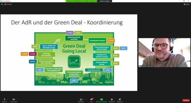 "Europa-Dialog ""Green Deal Europe"" am 23.3.21 – spannende Inputs via Zoom"