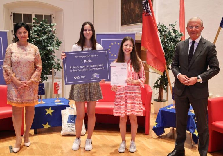 Read more about the article EU-Jugend-Zukunftsdialog zum europäischen Grünen Deal und Online-Preisverleihung #shapeyourEU4climate/ED Land Salzburg