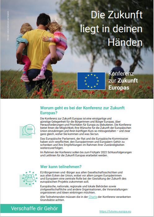 Read more about the article Die Zukunft liegt in deinen Händen